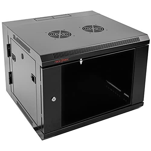 RackMatic - Armadio Rack da Muro 19' Basculante 9U 600 x 550 x 500 mm Parete SOHORack