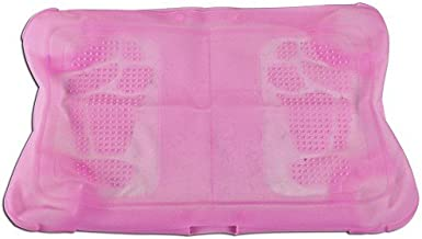 Pink - Wii Fit Balance Board Soft Silicone Protective NON-SKID Case Skin with Foot Massaging Bubbles