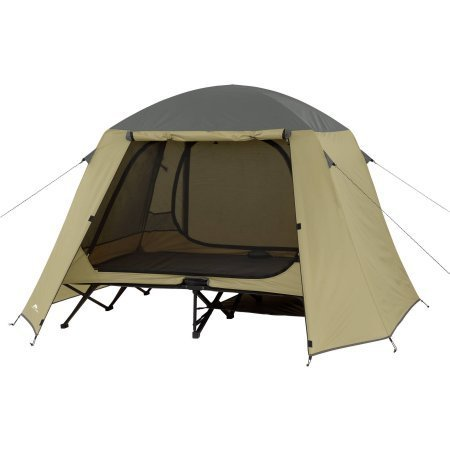 Ozark Trail Two-Person Cot Tent.