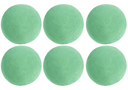 Bola de espuma floral – Paquete de 6 esferas de espuma floral verde, 4.8'