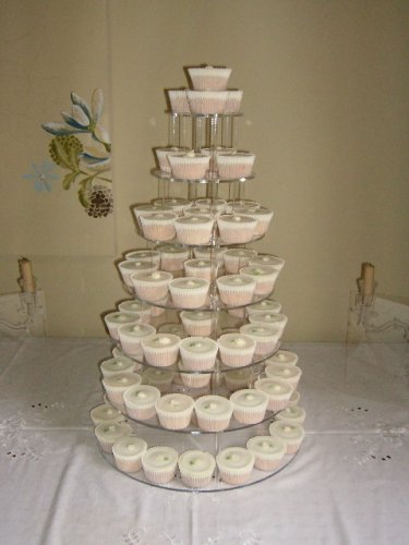 ... Thick Acrylic Wedding Party Favour Cupcake Cake Stand by Classikool