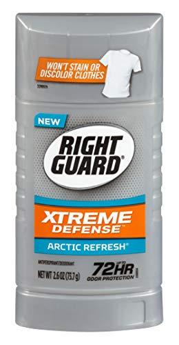 Right Guard Xtreme Defense 5 Arctic Refresh antitraspirante 2,6 once (pacchetto di 3)