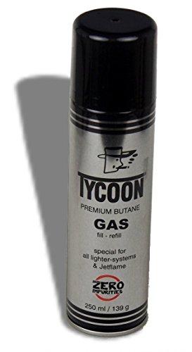 Lifestyle-Ambiente Tycoon Premium Spezialgas für Jetflammen große Flasche