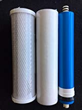 Hydro Logic Stealth RO150 Complete Replacement Filter Kit Includes - Membrane, Carbon & Sediment Filter By Clear Hydro