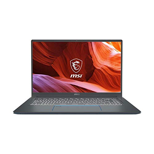 "MSI Prestige 15 A10SC-010 15.6"" Ultra Thin and Light Professional Laptop Intel Core i7-10710U GTX1650 MAX-Q 32GB DDR4 1TB NVMe SSD Win10Pro"