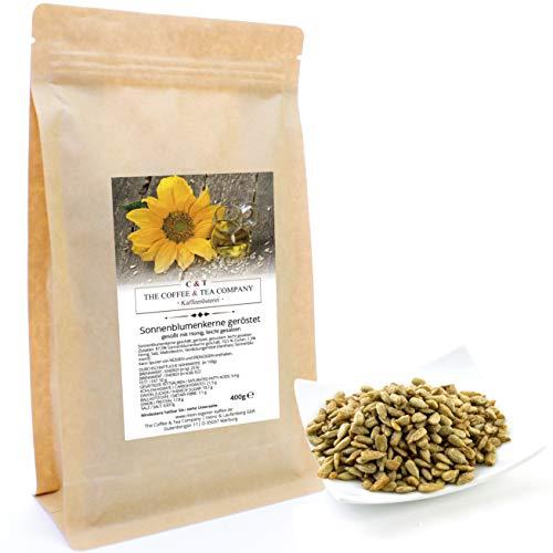 C&T Sonnenblumenkerne geröstet mit Honig 400 g Nachfüllpack Knusperkalender