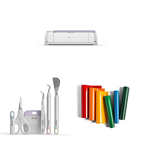 Cricut Maker, Lilac with Basic Tool Set, Core Colors and...