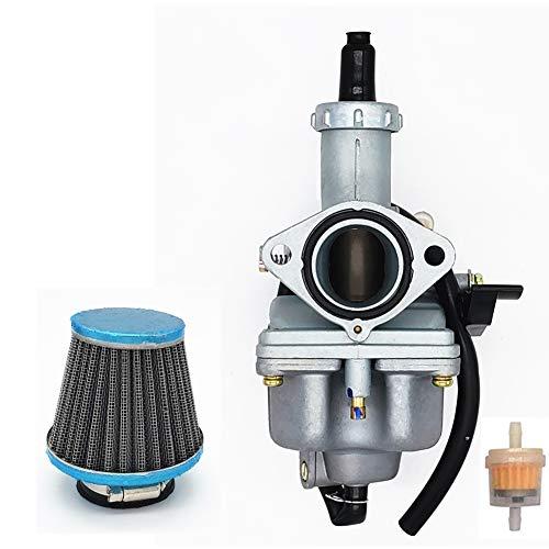 tianfeng 26mm Carburetor for Honda 100cc 125cc 4-Stroke ATV Go-Kart Dirt Bike XL100 XL100S CB100 GL100 125 CG125 XR125 XL125S CB125S crf150 PZ26 Carburetor W/Air Filter