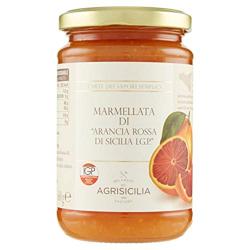 Agrisicilia Marmellata di Arancia Rossa di Sicilia IGP - 360 g