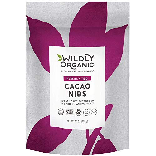 Wildly Organic Fermented Cacao Nibs (16 Servings)