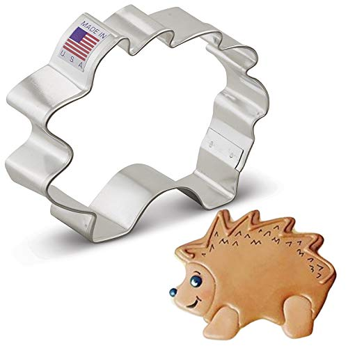 Ann Clark Cookie Cutters Hedgehog Cookie Cutter, 3.5""