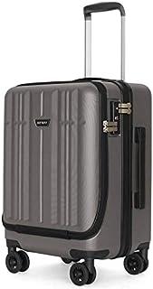スーツケース【Sサイズ1~3泊に最適 38L 3.2kg JOYWAY 軽量 キャリーバッグ キャリーケース 旅行バッグ TSAロック TTL-007-ダークシルバー