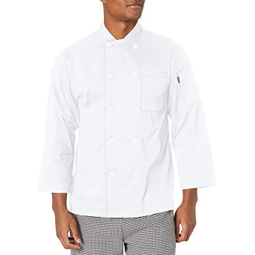 100 cotton chef coat men - 1