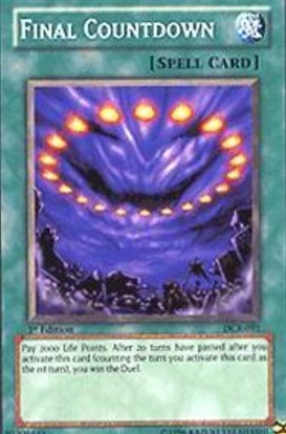 Yu-Gi-Oh  - Final Countdown (DCR-091) - Dark Crisis - 1st Edition - Common