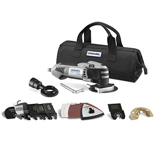 Dremel MM40-03 2.5-Amp Multi-Max Oscillating Ultimate Tool Kit with 29 Accessories -
