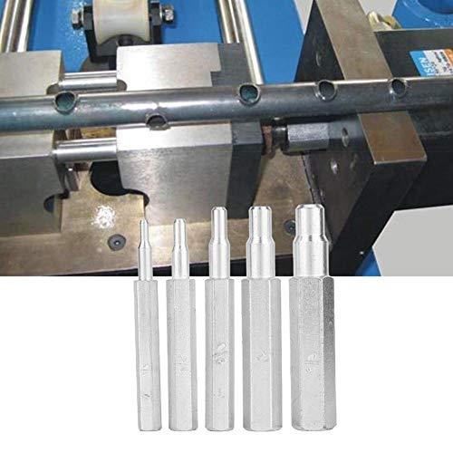 """Rohr-Expander, MAGT 5PCS Ct-193 Kupfer-Rohr-Expander Presswerkzeug 1/4"""", 5/16"""", 3/8"""", 1/2"""", 5/8""""für Klimaanlagen Kälteanlagen"""