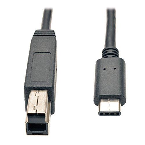 Tripp Lite U422-003-G2 Cable USB 3.1 Gen 2 (10 Gbps), USB Type-C (USB-C) a USB 3.0 Type-B (M/M), 0.91 m
