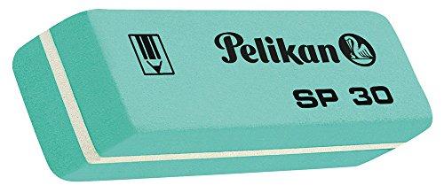 Pelikan SP 30–Radiergummi, 1Stuck, Grünblau/Weiß