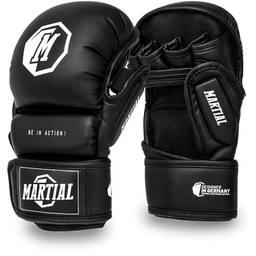 Guantes de Combate Martial para MMA Hechos del Mejor Materia