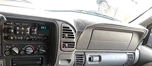 AKMOTOR Dash Cover Mat Custom for 1997-2000 Chevy Chevrolet/GMC C1500