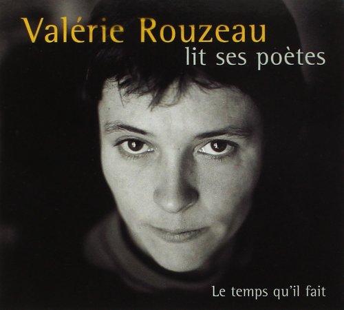 Valerie Rouzeau lit ses poètes (2 CD audio)