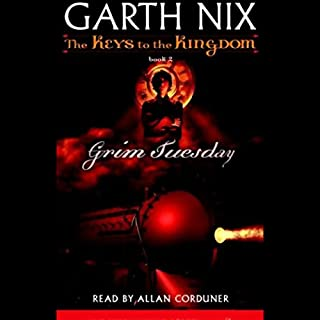 Grim Tuesday audiobook cover art