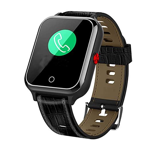 QASD SmartWatch, Ritmo Cardíaco Monitoreo De La Presión Arterial Monitoreo De La Llamada Ejercicio Largo Standby Grande GPS Posicionamiento Súper Impermeable SOS One