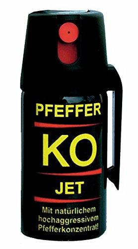 BALLISTOL Verteidigungsspray Pfefferspray Tierabwehspray Pfeffer-KO Jet 40ml