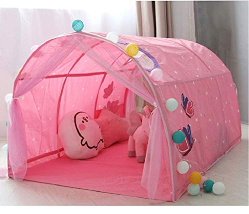 Kids Bed Tent, Children Game Tent Magical Playhouse Verjaardagscadeautjes, Portable Play Tent Easy To Store Install, Pop Up Bed Tents Voor Boys Girls