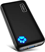 INIU Portable Charger, 20W PD3.0 QC4.0 Fast Charging USB C 20000mAh Compact Power Bank, Tri-Outputs Battery Pack Compatible with iPhone 12 11 X 8 Samsung S20 Google LG iPad Tablet etc. [2021 Version]