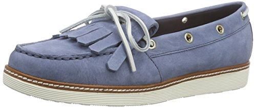 Tommy Hilfiger Damen M1285ACY 1N Bootsschuhe, Blau (Azul 435), 41