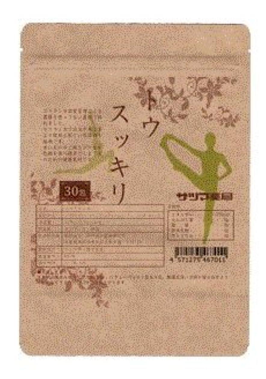異常致命的指サツマ薬局 ダイエットティー トウスッキリ茶 60包(30包×2) ティーパック 高濃度コタラヒム茶 ほうじ茶