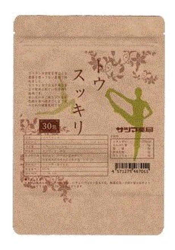 岸感染する木材サツマ薬局 ダイエットティー トウスッキリ茶 60包(30包×2) ティーパック 高濃度コタラヒム茶 ほうじ茶