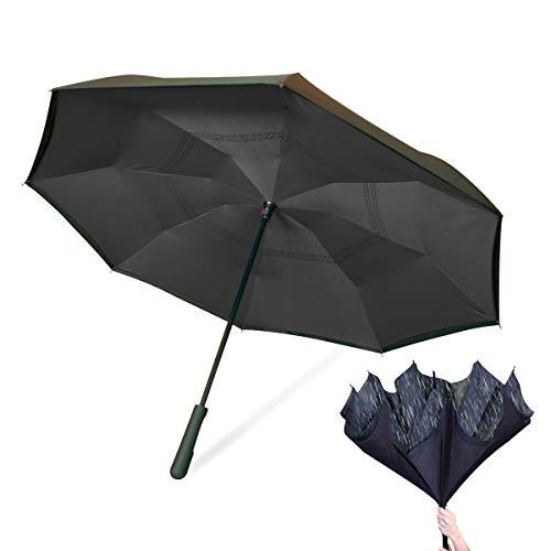 Wonderdry Umbrella 2018 Regenschirm, 79 cm, Schwarz (Negro)