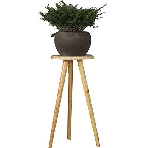 Sarazong Plante en Bois Massif Multi-Taille Triangle Support Palier Plante d'atterrissage Stand De Fleur D'intérieur Salon Décoration De Fleur Rack,E