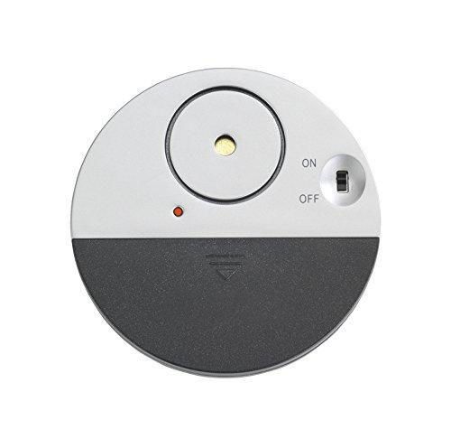 Wenko 8759900 Glas-Scheiben-Alarm Alarmanlage, 1.5 V, Schwarz