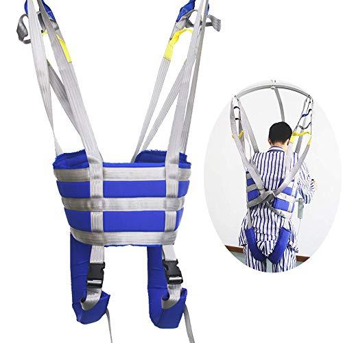 413M8tvubaL - ZIHAOH Cabestrillo De Elevación De Paciente De Cuerpo Completo, Cinturón para Caminar Asistido por El Paciente, Las Piernas Se Pueden Separar, Seguridad De Enfermería