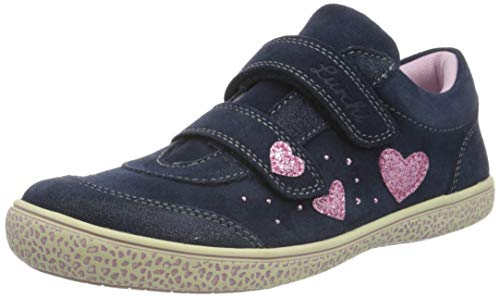 Lurchi Mädchen Tanita Sneaker, Blau (Navy 22), 31 EU