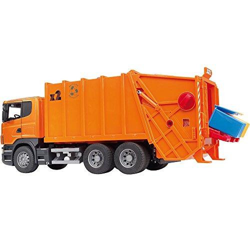 Bruder Scania R-Serie Müll LKW 03560 Schwarz Spielzeugmodell