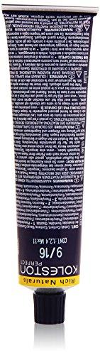 Wella Koleston Rich Naturals 9/16 Coloration professionnelle Blond clair/violet cendré 60 ml