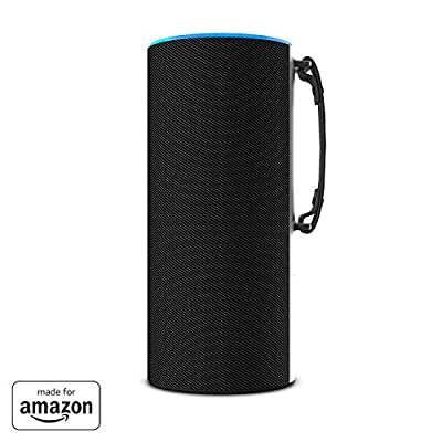 """""""Made for Amazon"""" Ninety7 SKY TOTE Portable Battery Base for Amazon Echo (2nd Generation) Black/Carbon by Ninety7 Inc"""