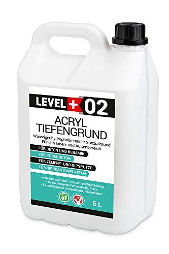 5 L Acryl Tiefengrund Acrylat-Grundierung gebrauchsfertige verarbeitungsfertig Haftgund RM02