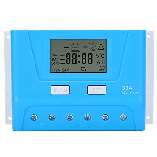 Weikeya Elektronisch Solar Panel Regler, Solar Aufladen Regler ≤40V....