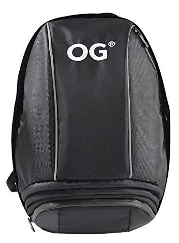 OG Online&Go Mochila Moto Negra de 25-35L, Correa Casco Moto, Mochila Antirrobo...