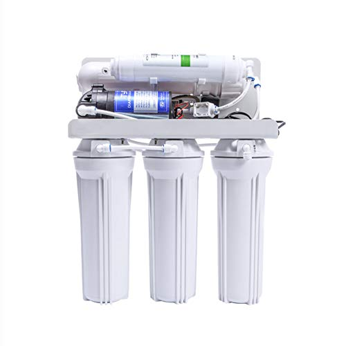 XKCJTCF Reverse Osmosis Water Filter Replacement Filter Set, Domestic Home Undersink 5 Stage Reverse Osmosis System, for The Very Best Drinking Water