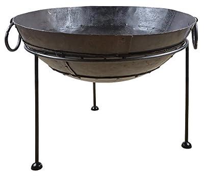 Esschert Design FF247 Reclaimed Metal Fire Bowl, 70 CM from Esschert Design