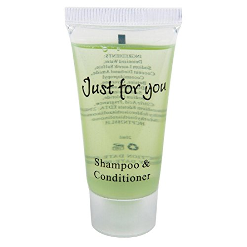 Just for You shampoo/conditioner, 20 ml hoeveelheid: 100 stuks