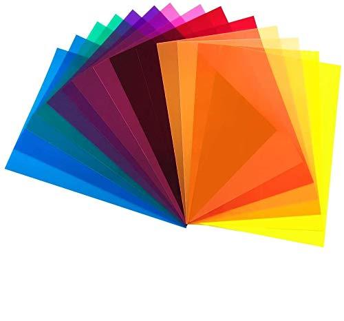 DECARETA DECARETA 14 Stück Farbfolien Gel Bild