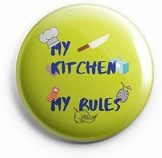 AVI Fridge Magnet My Kitchen My Rules Green Regular Size 58mm MR8002078