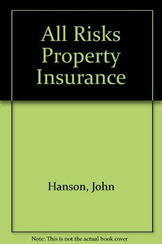 All risks property insurance